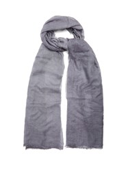 Title Of Work Solid Cashmere Scarf Grey