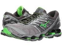Mizuno Wave Prophecy 7 Monument Green Slim Running Shoes Gray