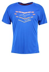 Mizuno Core Graphic Sports Shirt Nautical Blue