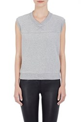 Skin Women's Reverse French Terry Sleeveless Top Grey