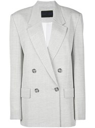 Proenza Schouler Oversized Double Breasted Blazer 60