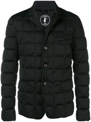 Save The Duck Buttoned Padded Jacket Black