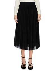 Biancoghiaccio 3 4 Length Skirts Black
