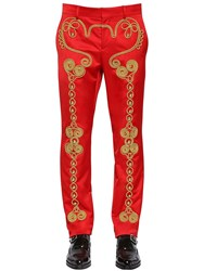 Moschino Circus Inspired Embellished Pants