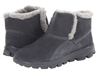 Skechers On The Go Chugga Charcoal Women's Pull On Boots Gray