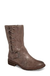 Sofft Women's Belmont Boot Smoke Foil Suede