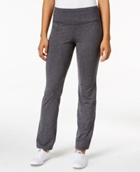 Styleandco. Style Co. Melange Bootcut Yoga Pants Only At Macy's Black Combo