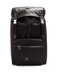 Dunhill Guardsman Canvas And Leather Backpack Black