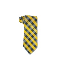 Eagles Wings Missouri Tigers Checked Tie Black Yellow