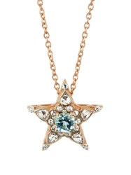 Selim Mouzannar Diamond Aquamarine And Pink Gold Istanbul Necklace