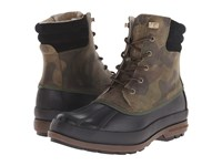 Sperry Cold Bay Boot Camo Black Men's Boots Multi