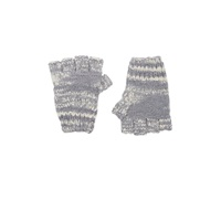 Fingerless Gloves White Dolphin Grey