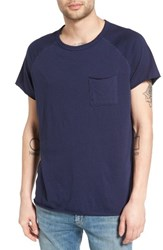 The Rail Men's Elongated Scoop Neck Pocket T Shirt