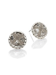 Saks Fifth Avenue Round Stud Earrings No Color