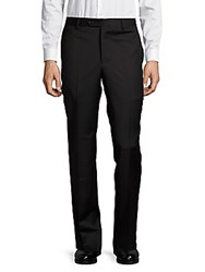 Saks Fifth Avenue Made In Italy Italian Wool Pants Black