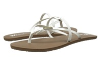 Volcom All Night Long 2 White Women's Sandals