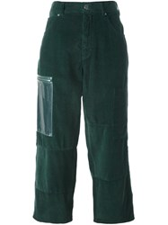 Maison Martin Margiela Mm6 Five Pocket Trousers Green
