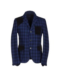 Phonz Says Black Suits And Jackets Blazers Men Dark Blue