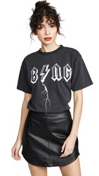Anine Bing Bolt Tee Black