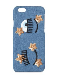 Chiara Ferragni Flirting Stars Denim Iphone 7 Case