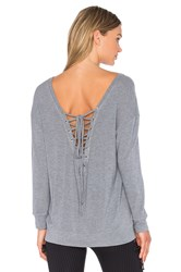 Blue Life Fit Tied Up Sweatshirt Gray