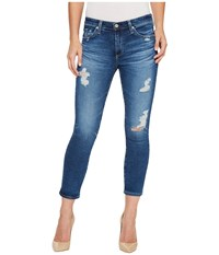 Ag Adriano Goldschmied Prima Crop In 14 Years Radiant Blue 14 Years Radiant Blue Women's Jeans