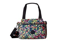 Kipling Elysia Satchel Sweet Bouquet Satchel Handbags Multi