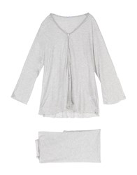 Grazia'lliani Sleepwear Light Grey