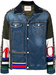 Iceberg Piumini Denim Jacket Blue