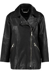 Marc By Marc Jacobs Karlie Leather Biker Jacket Black