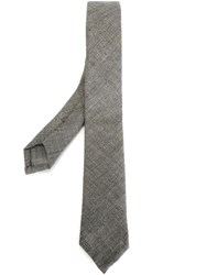 Thom Browne Woven Tie Grey