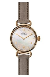 Shinola Women's Canfield Leather Strap Watch 32Mm