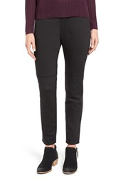 Eileen Fisher Women's Mixed Media Slim Leg Pants