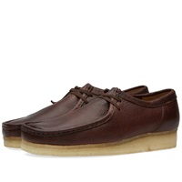 Clarks Originals Wallabee Brown Tumbled Leather