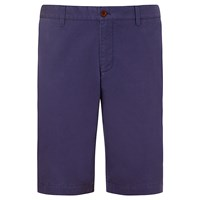John Lewis And Co. Mason Laundered Chino Shorts Airforce Blue