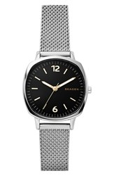 Skagen Women's Rungsted Mini Mesh Strap Watch 30Mm Silver Black Silver