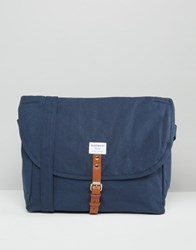 Sandqvist Jack Messenger Bag In Blue Blue