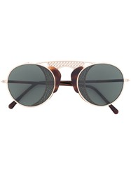 L.G.R Albatros Sunglasses Men Cotton One Size Nude Neutrals