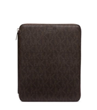 Michael Kors Logo Tablet Case For Ipad Brown