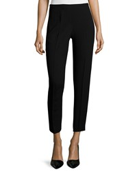 Elie Tahari Marcia Slim Ankle Pants Black