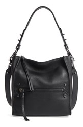 Botkier Small Paloma Leather Hobo Black