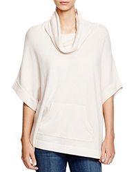 C By Bloomingdale's Cowl Neck Cashmere Sweater Oyster