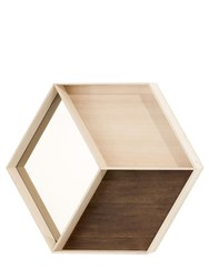 Ferm Living Wall Wonder Mirror With Shelves
