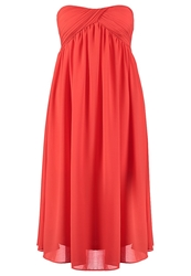 Glamorous Cocktail Dress Party Dress Coral