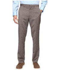 Kenneth Cole Reaction Techni Stretch Pants Tan Men's Dress Pants