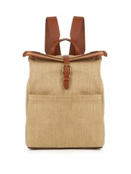 Mismo M S Express Canvas Backpack Light Brown
