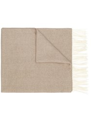 Church's Loose Elongated Scarf Nude And Neutrals