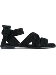 Senso Haley Sandals Women Suede Synthetic Resin Kid Leather 35 Black
