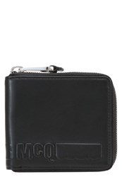 Mcq By Alexander Mcqueen Wallet Darkest Black
