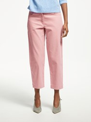 Great Plains Cotton Chunky Cord Trousers Cinder Pink